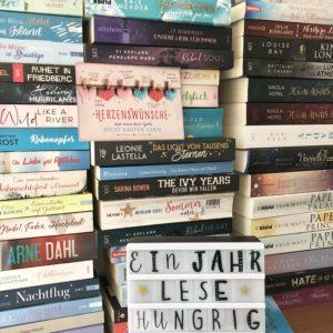 Erster Buchblog Geburtstag von lesehungrig