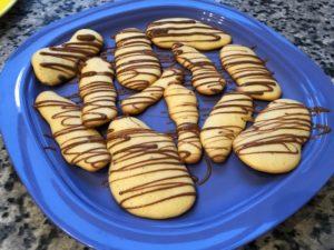 Mini Biskuit mit Schoko